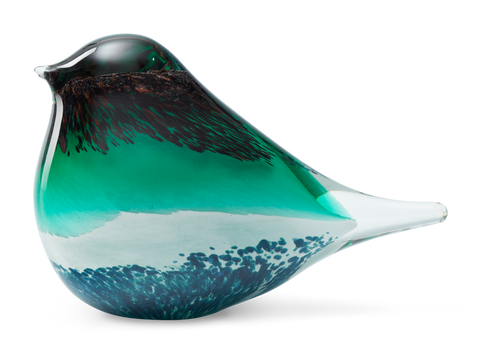 Atlas glass bird - Green