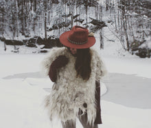 Load image into Gallery viewer, Felted Pelt Poncho