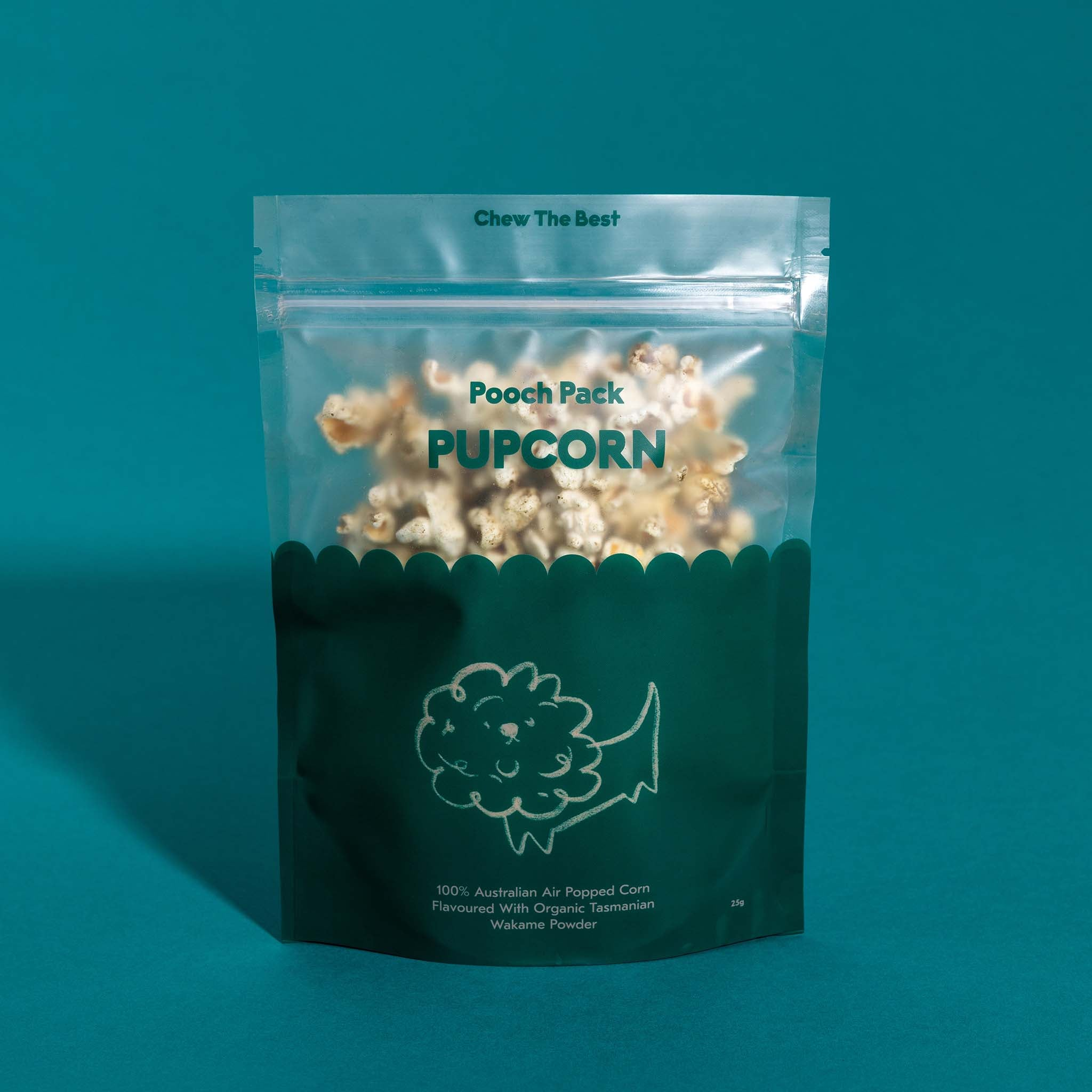 Wakame Air Popped Popcorn - 25g
