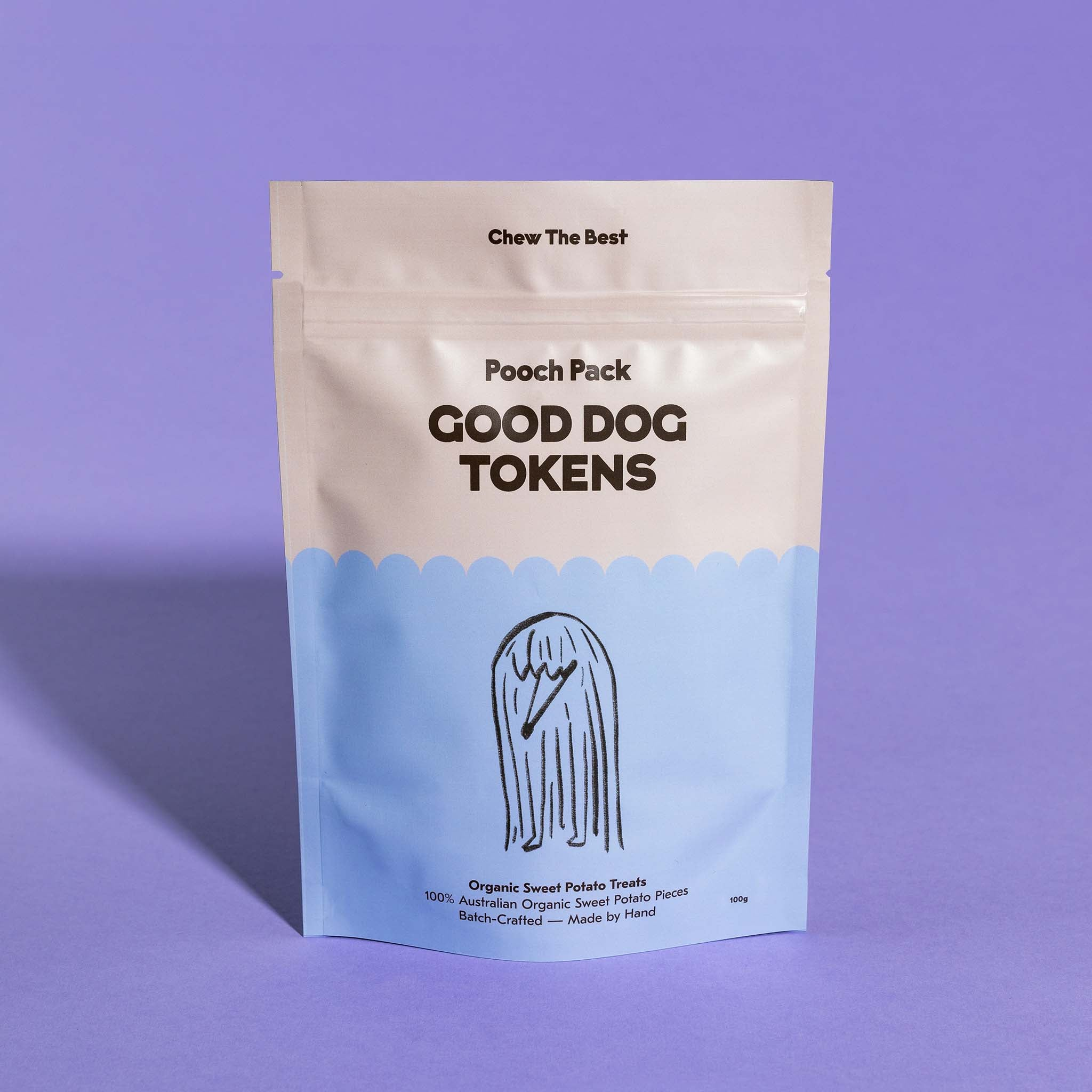 Good Dog Tokens - Sweet Potato 100g