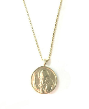 Round Saint Necklace