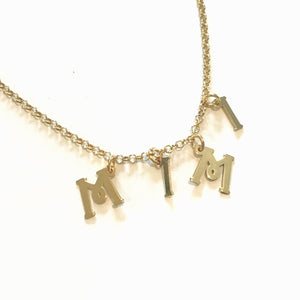 Name / Initial Charm Bracelet