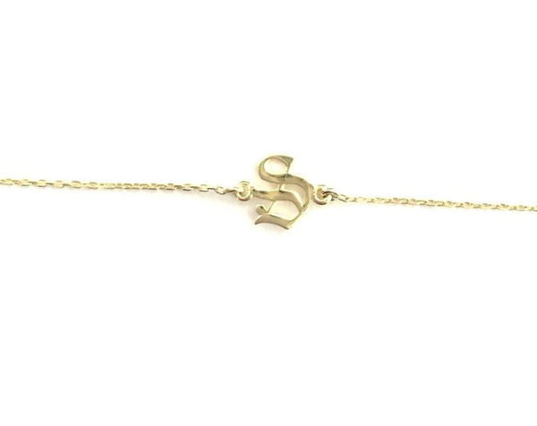 Old English Initial ROLO CHOKER
