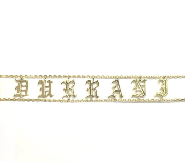 Old English Choker