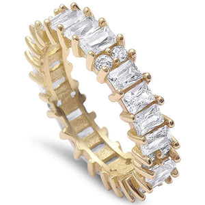 Baguette CZ Ring Style 2