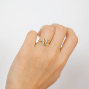 Gothic Initial Ring