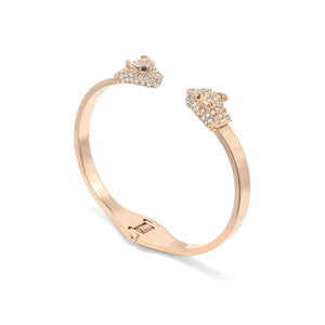 Open CZ Animal Bangle