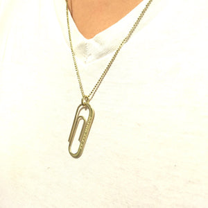 Custom Paperclip Necklace