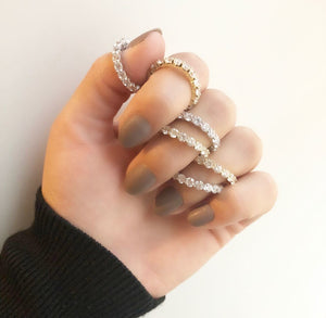 Mini Kylie Ring- *PLEASE SPECIFY SIZE & COLOR IN NOTES
