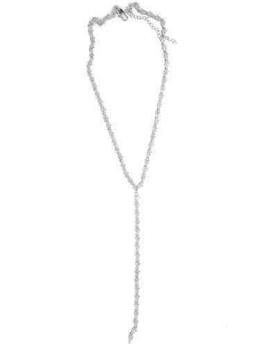 Crystal Collection Tear Drop Lariat