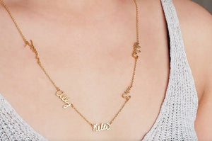 Multi-Name Necklace