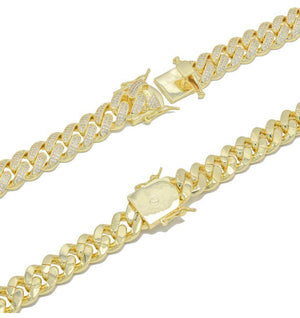 Cuban Link Chain Bracelet - 9mm