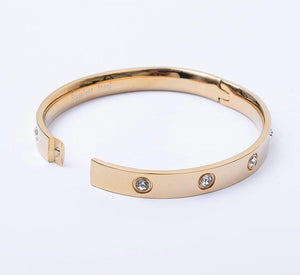 Inspired Love Bangle