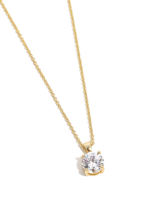 Gift Product - CZ Single Stud Necklace