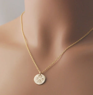 Actual Paw Print Disk Necklace (Elite Version)