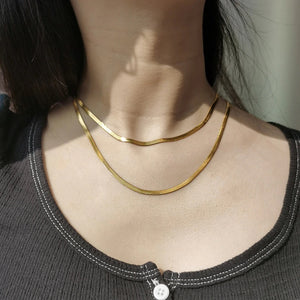 Snake Chain Necklace / Choker