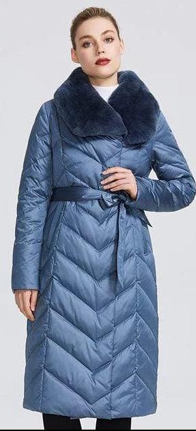 Women's Warm Long Winter Jacket - Hils&Ties Hils & Ties Men and Women Clothing