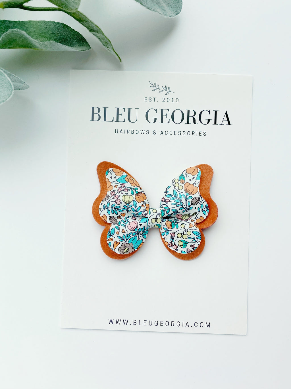 Vintage Ditsy - Butterfly Bow