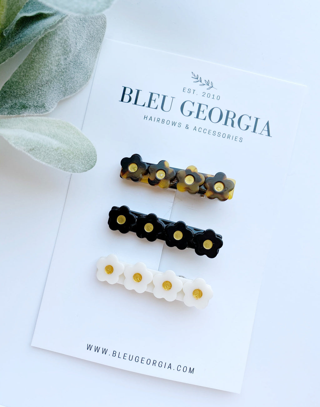 Elegant Bloom - Trio Clip Set