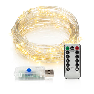 String Lights Double Wire USB Remote Control