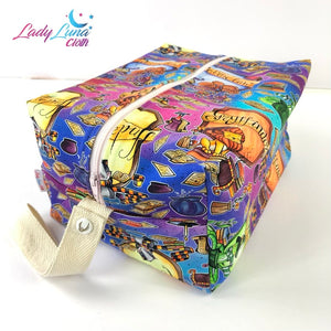 Boxxy Bag - Size 4 HP Multicoloured Houses - Tashlyn Reuter