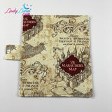 Family Passport Wallet - Marauders Map