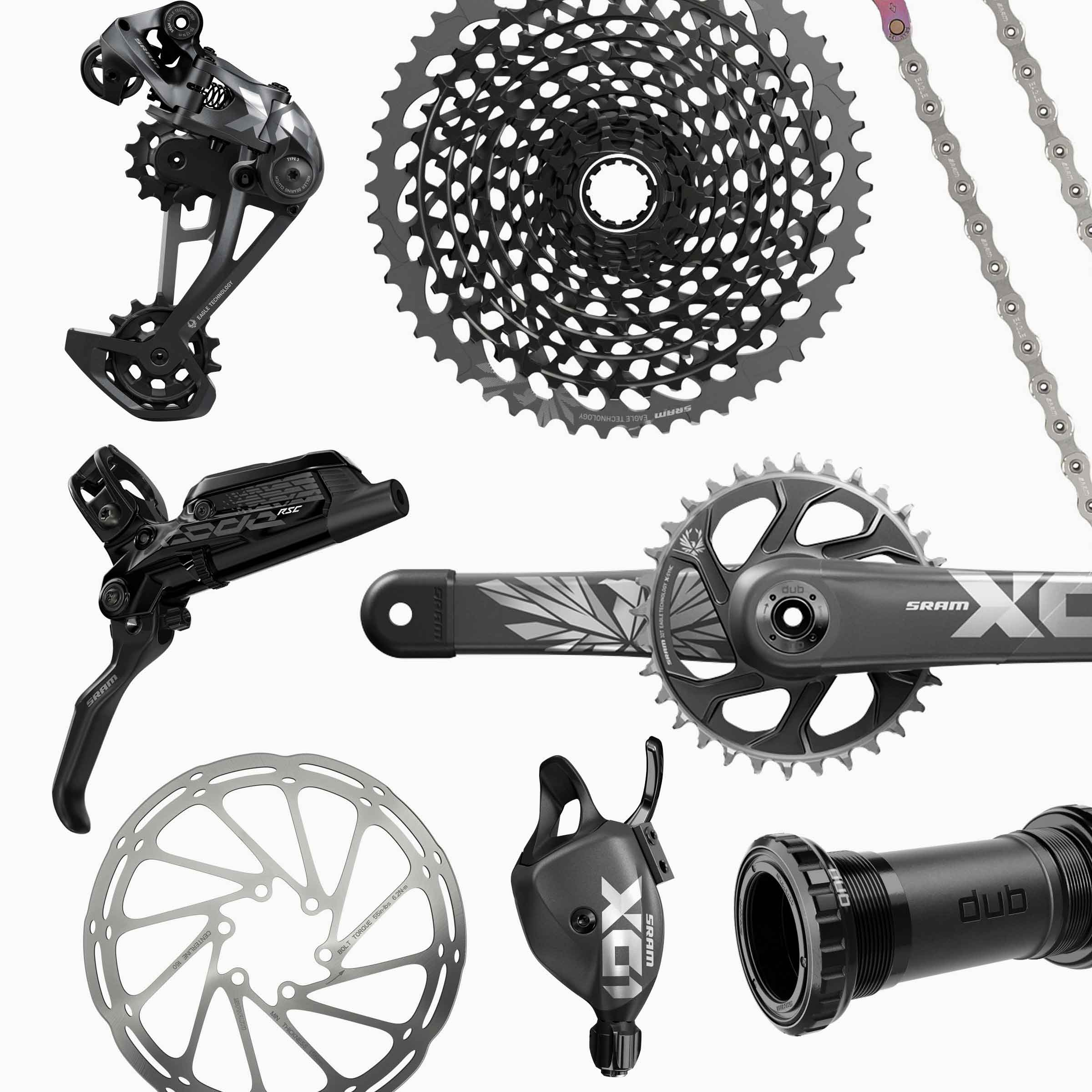SRAM X01 Eagle Base Kit - SB+