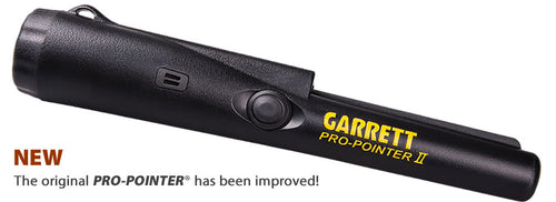 Garrett Pro-Pointer II w/ Lost Pinpointer Alarm~Improved Sensitivity~NEW