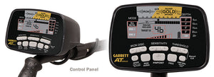 Garrett AT Gold Underwater Waterproof Metal Detector & MS-2 Headphones
