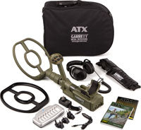Garrett ATX PULSE Induction Metal Detector With 11
