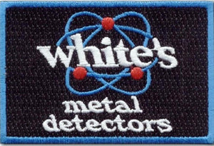 White's Metal Detector Sew-On Patch