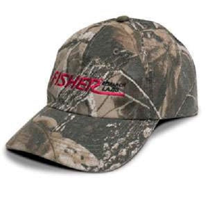 Fisher Camo Baseball Cap