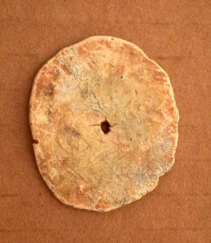 Flattened Civil War Bullet Poker Chip