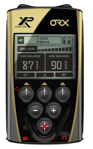 XP ORX Wireless Metal Detector with Back-lit Display + FX-02 Wired Backphone Heaphones + 9