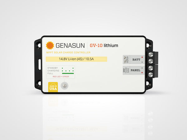 Genasun GV-10 Lithium Custom Voltage MPPT