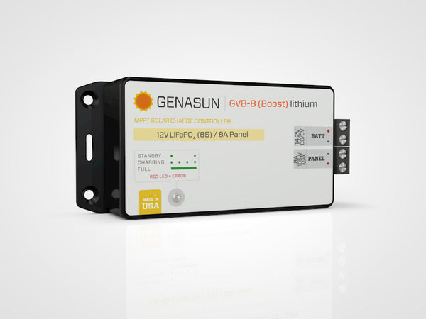 Genasun GVB-8 Lithium 20-29.9V Custom Voltage MPPT