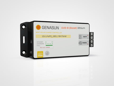 Genasun GVB-8 Lithium 11-19.9V Custom Voltage MPPT