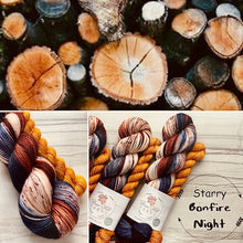 Load image into Gallery viewer, September Yarn club Starry Bonfire Night