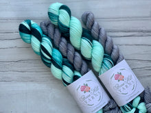 Load image into Gallery viewer, Glacier Lakes Half skein set- Fingering