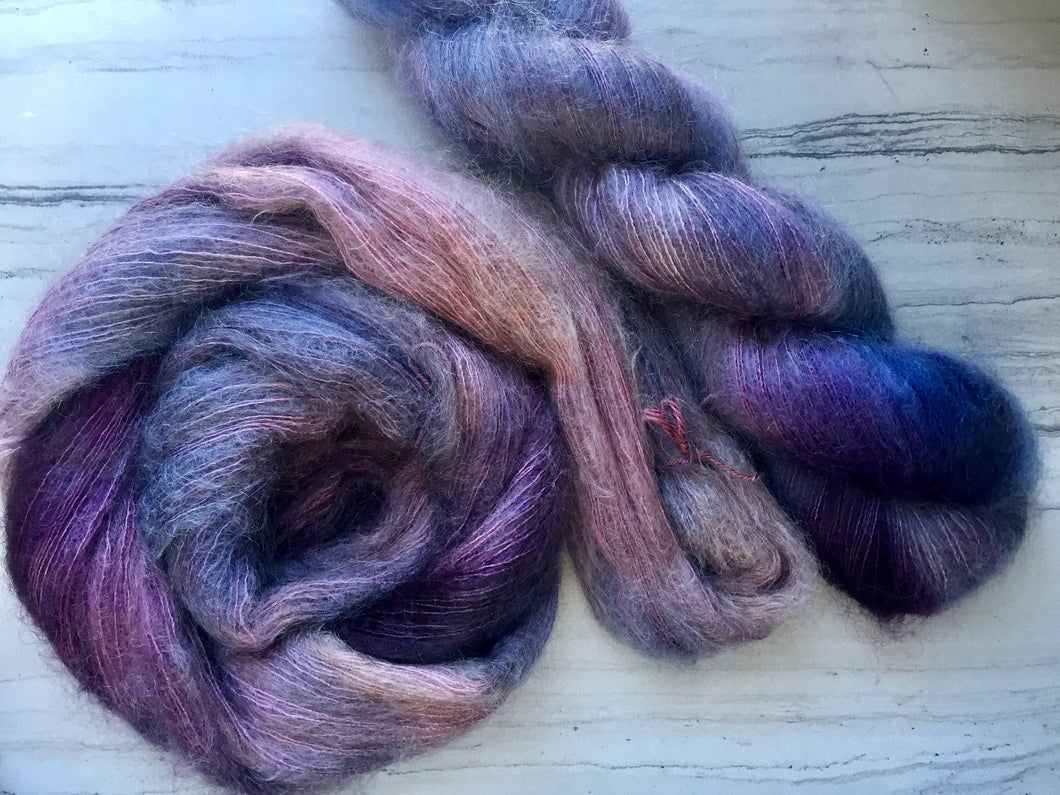 Grape Juice- Laceweight