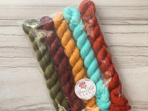 Happy Fall Y'all Mini skein Set