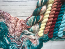 Load image into Gallery viewer, Into The Fae -Single ply  Mini skein Set