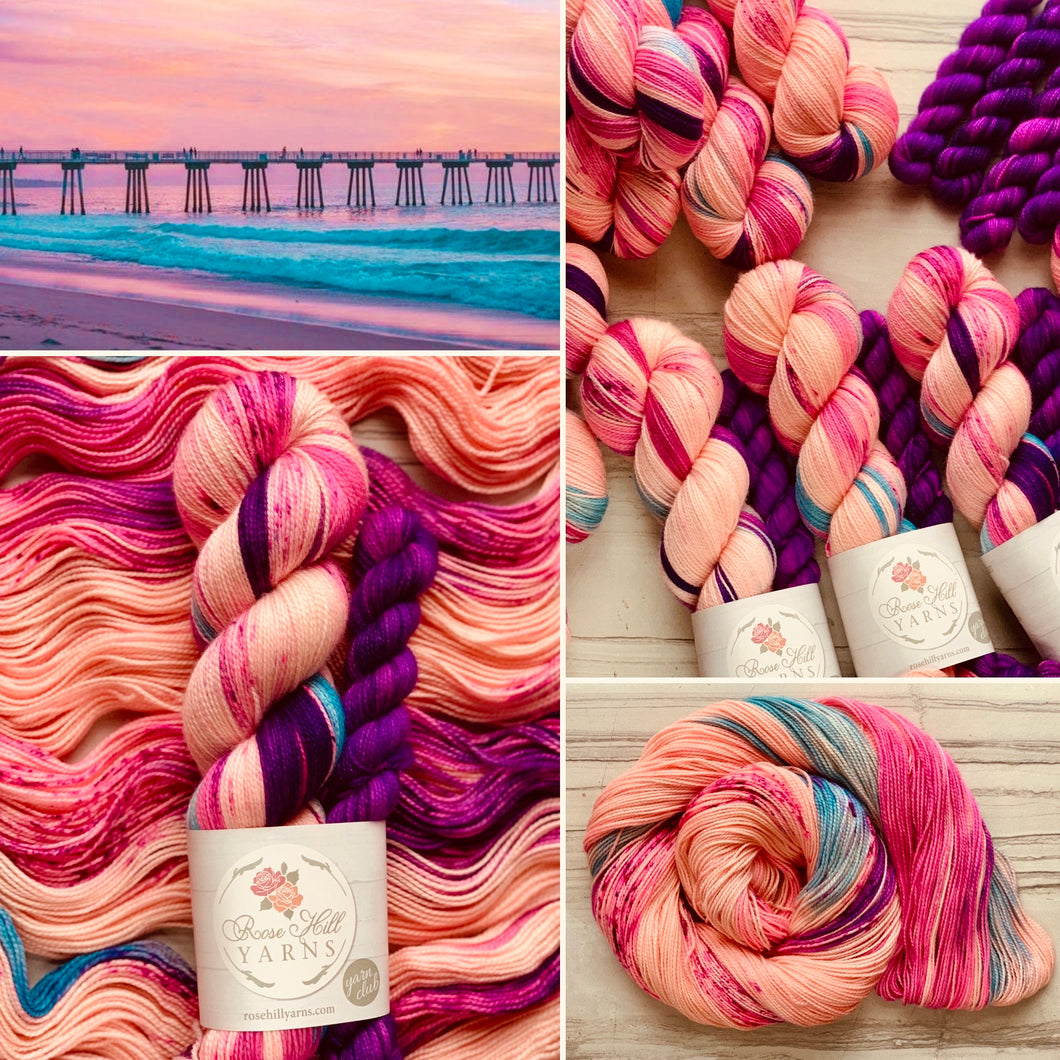 July's Yarn Club  The Pier