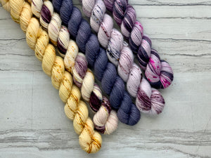 Lavender  Mini skein Set