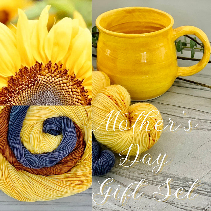 Mother's Day Sunshine Darker Yellow Cup
