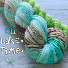 Load image into Gallery viewer, August Yarn club On Lake Time