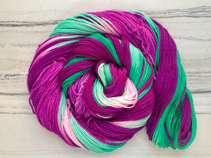 Purple Kale smoothie Half skein set- Fingering