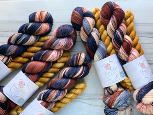 September Yarn club Starry Bonfire Night