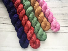 Load image into Gallery viewer, Summer Fruits -Single ply  Mini skein Set