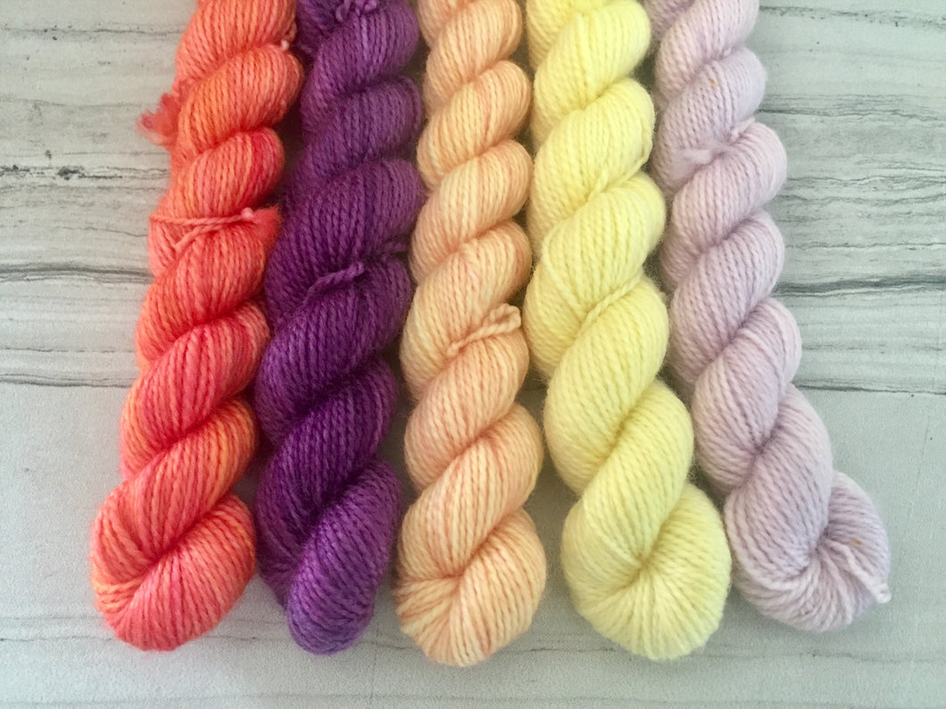 Van-Halla Mini Skein set - Fingering